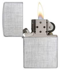 <b>Зажигалка бензиновая</b> Zippo 28181 <b>Linen</b> Weave Lighter ...