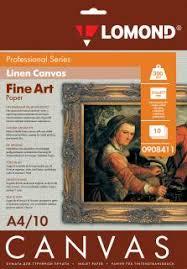 <b>Lomond</b> Natural Canvas Dye – холст для <b>струйной печати</b>, А4 ...