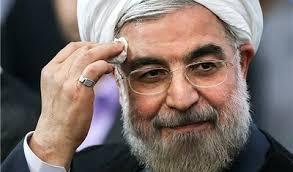 نتیجه تصویری برای روحانی در جمع قهرمانان ورزشی: