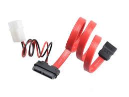 <b>Аксессуар</b> 👓️ <b>Кабель Akasa</b> SATA <b>Cable</b> for Slimline Opticals ...