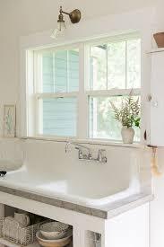 kitchen sinks host white farmhouse sink concrete countertops budget kitchen remodel