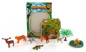 "<b>Игровой</b> набор животных ""Саванна"" в пакете <b>Наша Игрушка</b> 9638 7"