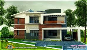 Bedroom modern home in Sq  feet   floor plan included    Modern home design