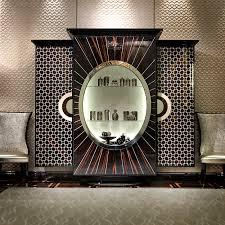 decorative art deco inspired display cabinet art deco office credenza