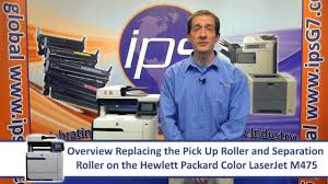 <b>HP</b> M475 - Replacing the Pick Up & Separation <b>Rollers</b> - YouTube