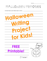writing prompts squarehead teachers halloween memories picture sticker