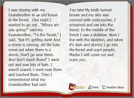 horror story essay topics   essay topicsexample of a scary story essay image
