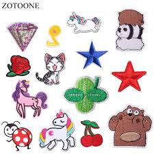 <b>ZOTOONE Unicorn Planet</b> Things Iron on Patches for Clothing ...