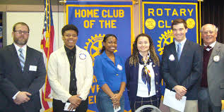 career day essay winners rotary club of norfolk ryan sinclair left norfolk public school secondary teacher specialist english curriculum instruction helped coordinate our annual career day essay