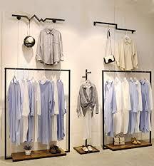 Modern Clothing Rack Customized Garment Display ... - Amazon.com