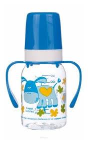Купить Canpol Babies <b>Бутылочка тритановая с ручками</b> 120 мл ...