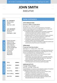 cvfolio best  resume templates for microsoft wordexecutive resume template  middot  view  amp  download