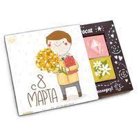 Вкусные подарки к 8 марта! - интернет-магазин Комус