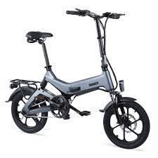 <b>Dohiker 16 Inch Electric</b> Bike Removable 7.5AH Lithium-Ion Battery ...