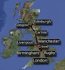 Image result for The first railway line in the world: Liverpool to Manchester