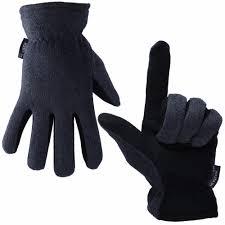 Ozero <b>Genuine</b> Deerskin <b>Ski Gloves</b> Sports Warm Windproof Anti ...