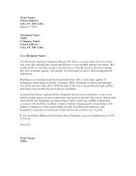 Letter Of Recommendation Observership Sample   Cover Letter Templates LOR Service