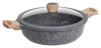 <b>Сотейник</b> Nadoba Mineralica 728415 <b>28</b> см с крышкой — купить и ...