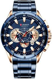 Curren Wrist Watch <b>Men</b> Waterproof Chronograph <b>Military Army</b> ...