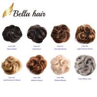 hidola chignon hair styling synthetic bun updos extension donut roller chignons headwear