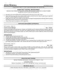 inventory manager resume  resume templates