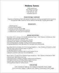 professional bookstore clerk templates to showcase your talent    resume templates  bookstore clerk