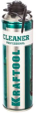 <b>Очиститель</b> монтажной <b>пены</b> KRAFTFLEX CLEANER (<b>500 мл</b> ...