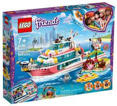 <b>Конструктор LEGO</b> Friends 41381 Катер для <b>спасательных</b> ...