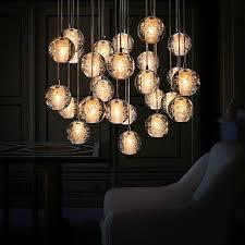roomamazing room pendant lighting light bedroom crystal: umeia pendant light g retroifit w chrome plating crystal modern contem