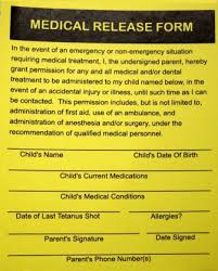 medical consent form relatives permission letter for medical treatment