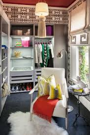 chic walk in closet with brilliant clever organization and comfy sofa by shelley and bedroom teen girl rooms walk