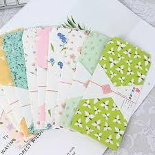 <b>5Pcs</b>/pack Hello plants Envelope Paper Envelope Gift Craft ...