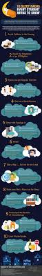 best ideas about college students college study 10 sleep hacks every student needs to know infographic