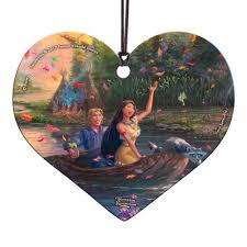 <b>Pocahontas Thomas Kinkade</b> Hanging Acrylic Print - Entertainment ...
