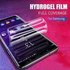 <b>Silicone TPU Hydrogel Sticker</b> Film For Samsung Galaxy S10 S9 S8 ...