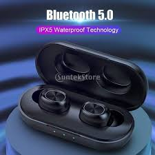 B5 <b>TWS Bluetooth</b> Wireless <b>Earphone 5.0</b> Touch Control <b>Earbuds</b> ...
