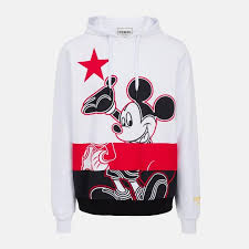 Iceberg <b>Chinese</b> New Year Mickey <b>Mouse</b> Hoodie - <b>White</b> - I1P ...
