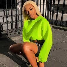 <b>Simenual Knitwear Backless Criss</b> Cross Sweaters Women Neon ...