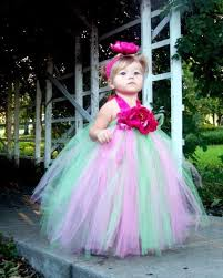 <b>Flower</b> Fairy tutu Dress custom made sizes 12 by ...