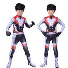 Kids Boys Girl <b>Endgame</b> Quantum <b>Realm Cosplay Costume</b> ...