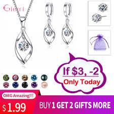 New <b>Trendy Jewelry</b> Set 925 Sterling Silver <b>Cubic</b> Zirconia Pearl ...