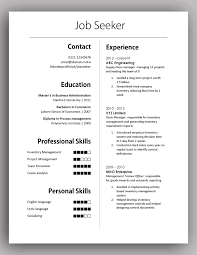 simple yet elegant cv template to get the job done simple elegant cv template