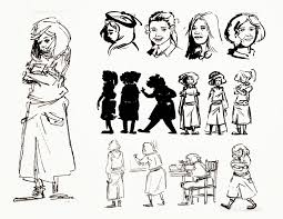 alyssa raven ani a final book thief character design liesel character design