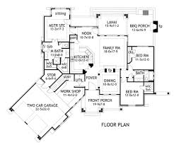 Enlarged Master Bath Floor Plan Option image of Mountain Cottage    Enlarged Master Bath Floor Plan Option image of Mountain Cottage Design House Plan  will be adding Double Deep Garage  extending Guest Suite and