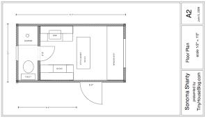 A closer look at the Sonoma Shanty tiny house plans   Tiny House    sonoma shanty tiny house