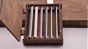 Деревянная <b>шкатулка</b> (кейс) для <b>хранения</b> заточных брусков ...