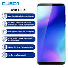 <b>Refurbished CUBOT X18 Plus 4G</b> Smartphone 5.99 Android 8.0 ...