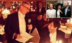 Shirley <b>Conran</b> ends 13-year feud with son <b>Jasper</b> at his gay wedding