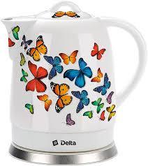 <b>Электрочайник Delta DL</b>-<b>1233A</b> Бабочки купить недорого в ...