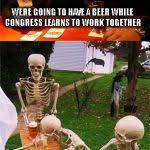 Waiting Skeletons Meme Generator - Imgflip via Relatably.com